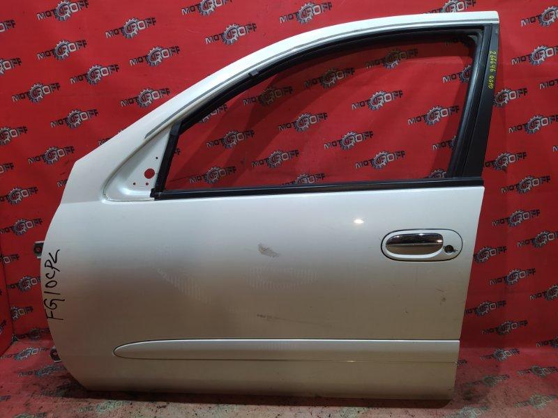 Дверь боковая Nissan Bluebird Sylphy TG10 QR20DD 2000 передняя левая (б/у)