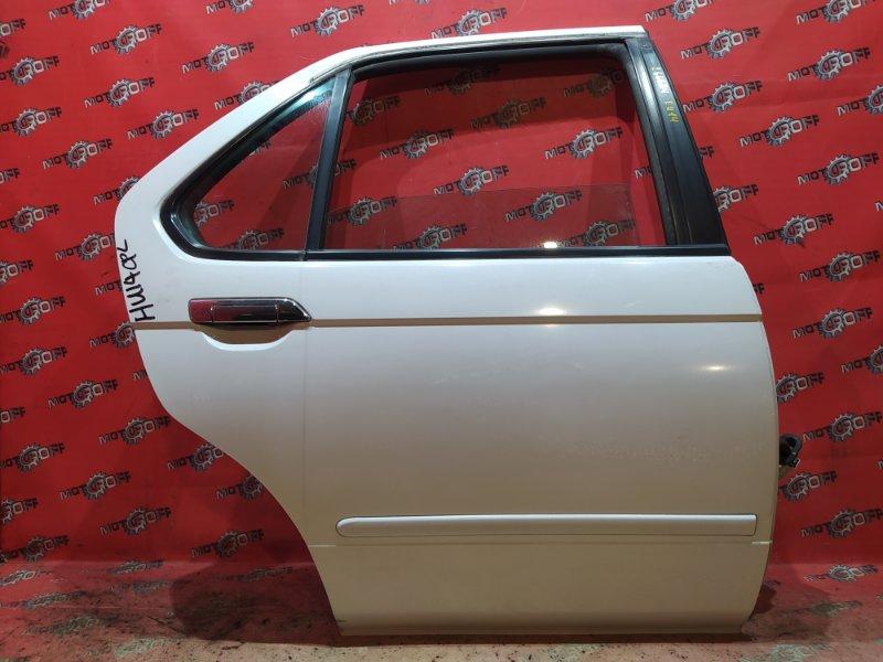 Дверь боковая Nissan Bluebird EU14 SR18DE 1996 задняя правая (б/у)