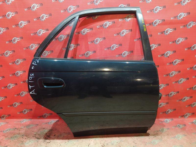 Дверь боковая Toyota Carina ST190 4S-FE 1992 задняя правая (б/у)