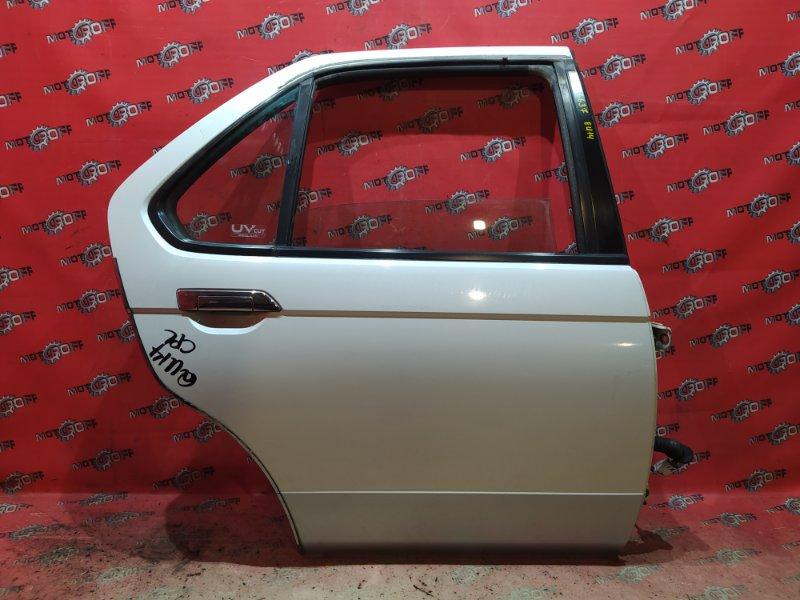 Дверь боковая Nissan Bluebird QU14 QG18DE 1996 задняя правая (б/у)