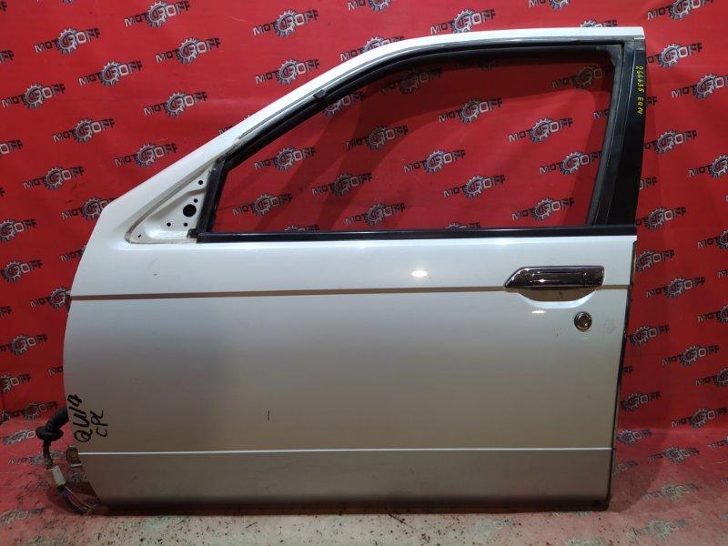 Дверь боковая Nissan Bluebird EU14 SR18DE 1996 передняя левая (б/у)