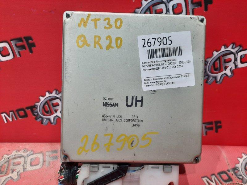Компьютер (блок управления) Nissan X-Trail NT30 QR20DE `2000 (б/у)