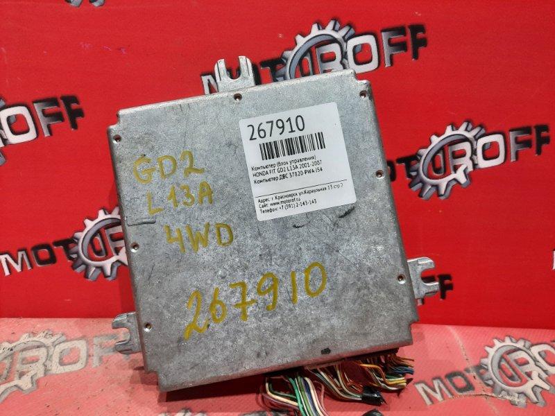 Компьютер (блок управления) Honda Fit GD2 L13A 2001 (б/у)