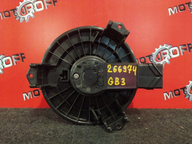 Вентилятор (мотор отопителя) Honda Freed GB3 L15A 2008 (б/у)