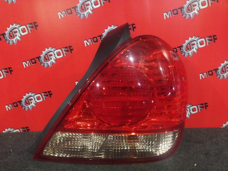 Фонарь (стоп-сигнал) Nissan Bluebird Sylphy TG10 QR20DD 2003 задний правый (б/у)