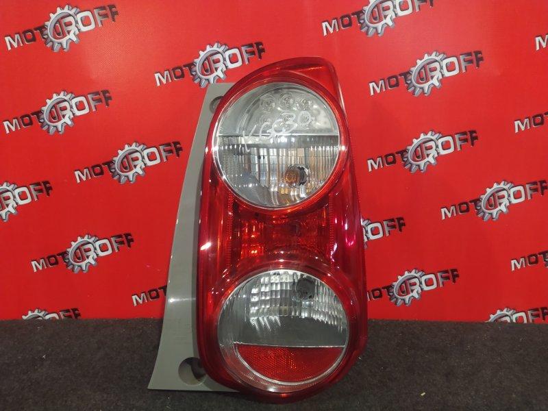Фонарь (стоп-сигнал) Toyota Passo KGC30 1KR-FE 2010 задний правый (б/у)