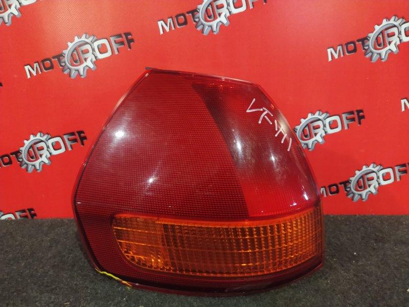 Фонарь (стоп-сигнал) Nissan Ad VFY11 QG15DE 1999 задний левый (б/у)