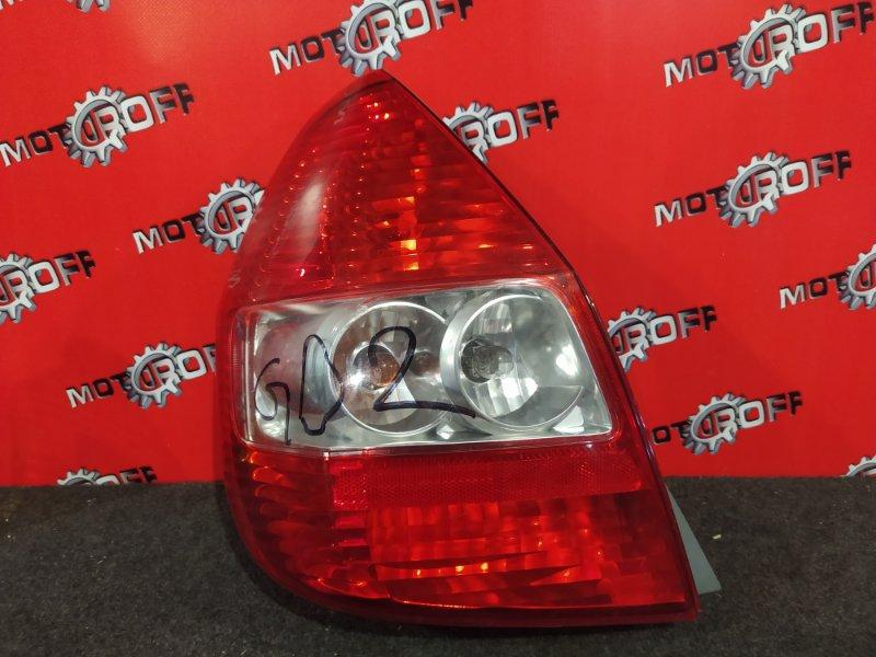 Фонарь (стоп-сигнал) Honda Fit GD1 L13A 2001 задний левый (б/у)