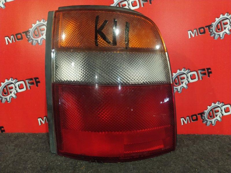 Фонарь (стоп-сигнал) Nissan March K11 CG10DE 1992 задний левый (б/у)