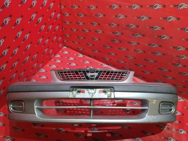 Бампер Nissan Sunny FB15 QG15DE 1998 передний (б/у)
