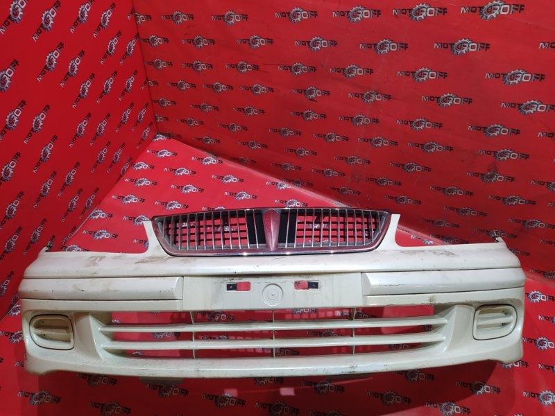 Бампер Nissan Bluebird Sylphy FG10 QG15DE 2000 передний (б/у)