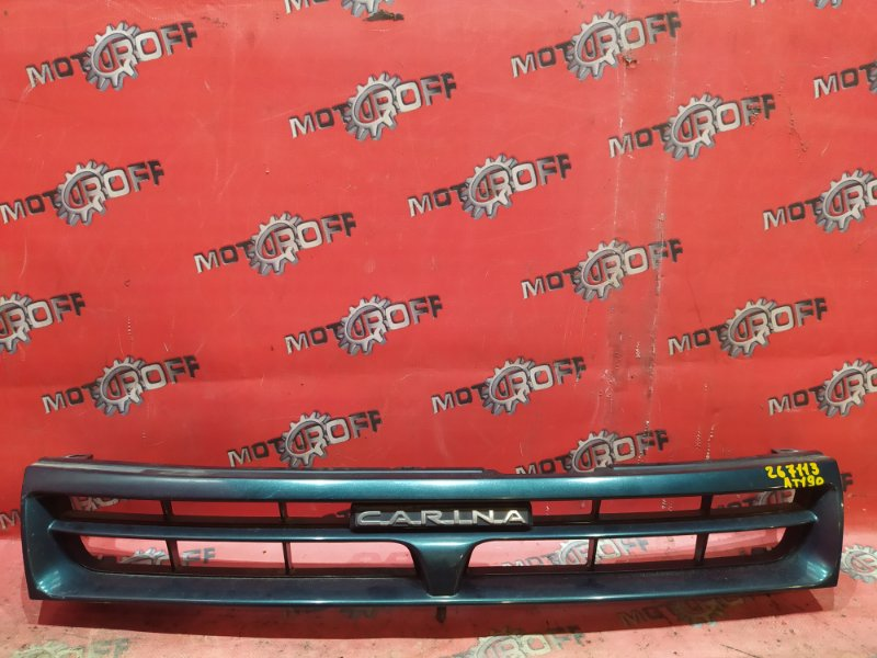 Решетка радиатора Toyota Carina AT190 4A-FE 1992 (б/у)