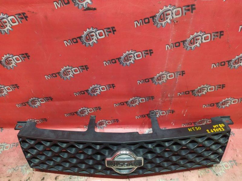 Решетка радиатора Nissan X-Trail NT30 QR20DE `2000 (б/у)