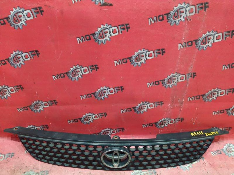 Решетка радиатора Toyota Corolla Spacio AE111N 4A-FE 1997 (б/у)