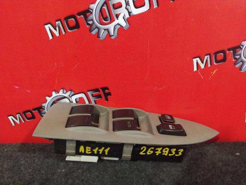 Блок управления стеклоподъемниками Toyota Corolla Spacio AE111N 4A-FE 1997 правый (б/у)
