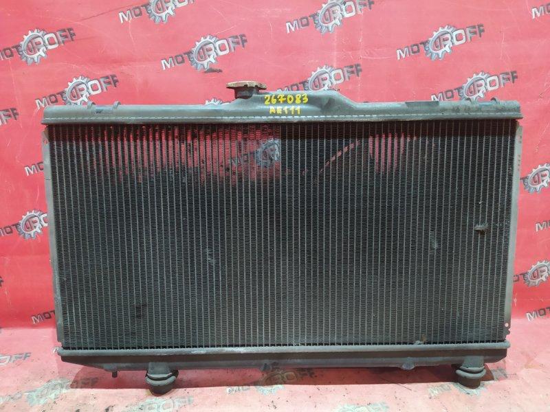 Радиатор двигателя Toyota Corolla Spacio AE111N 4A-FE 1997 (б/у)