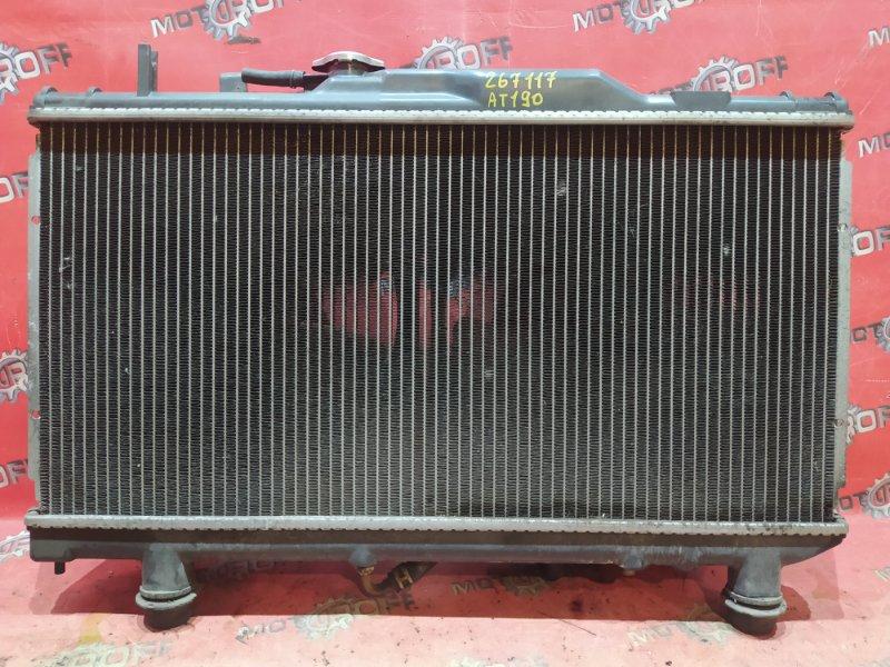 Радиатор двигателя Toyota Carina AT190 4A-FE 1992 (б/у)