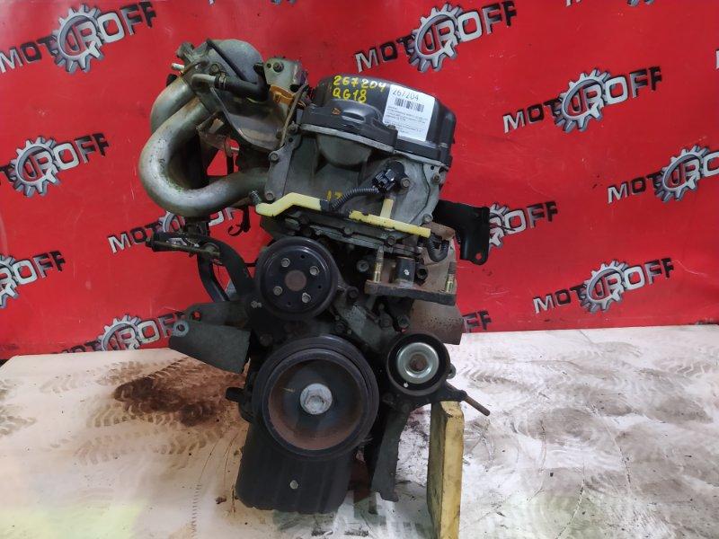 Двигатель Nissan Wingroad WHNY11 QG18DE 1999 (б/у)