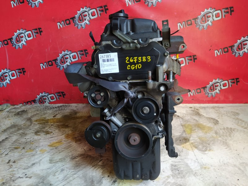 Двигатель Nissan March K11 CG10DE 1992 (б/у)