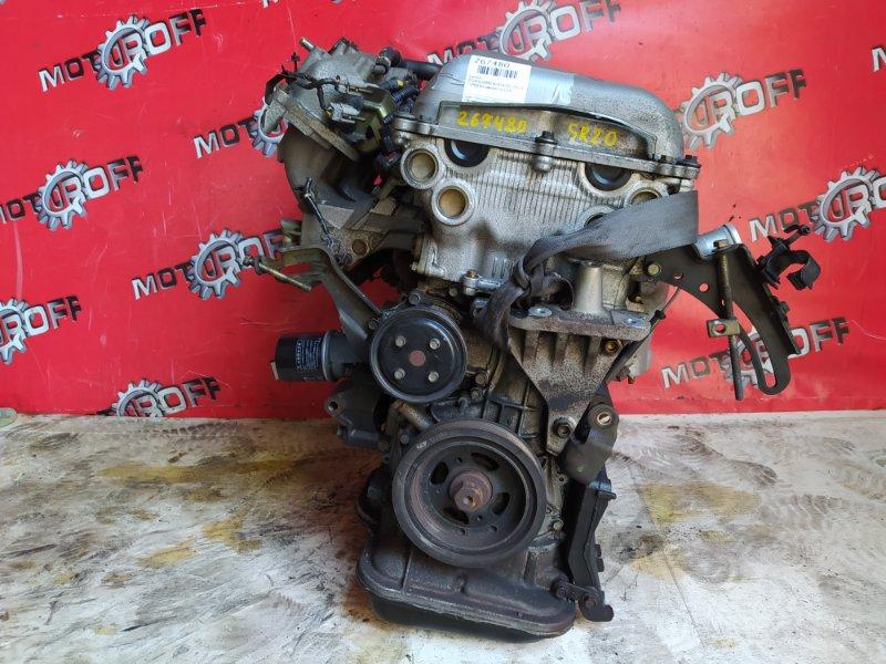 Двигатель Nissan Bluebird HU14 SR20DE 1996 (б/у)