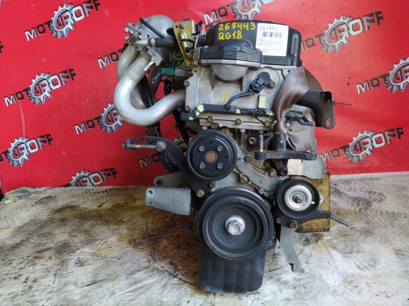 Двигатель Nissan Bluebird Sylphy QG10 QG18DE 2000 (б/у)