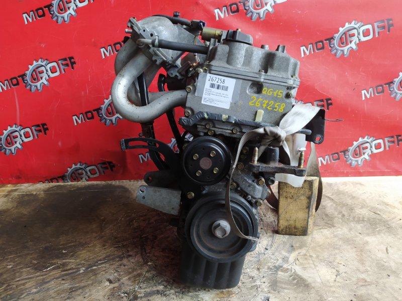 Двигатель Nissan Ad VFY11 QG15DE 1999 (б/у)