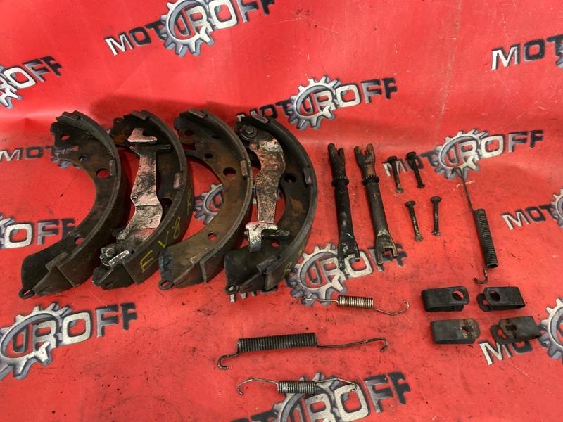 Колодки тормозные Honda Partner EY7 D15B 1996 задние (б/у)