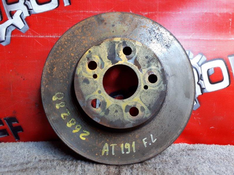 Диск тормозной Toyota Corona Premio ST210 3S-FSE 1996 передний (б/у)