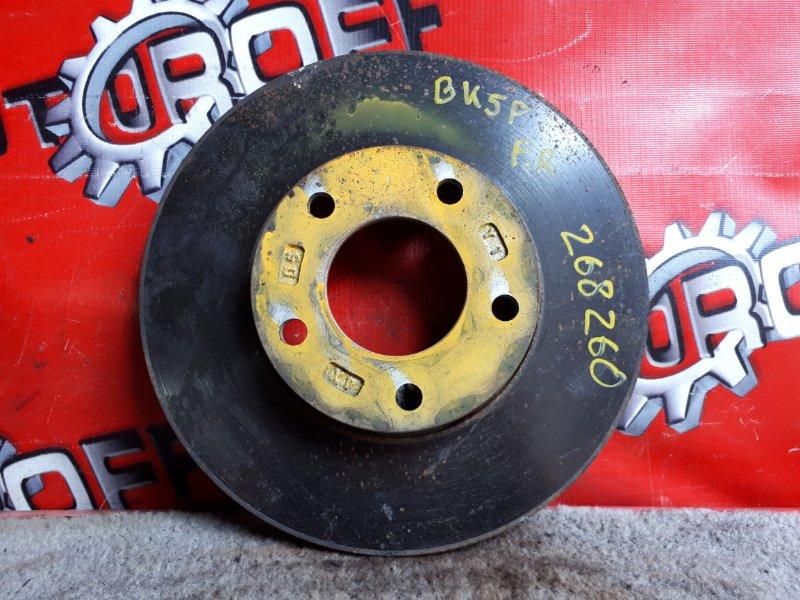 Диск тормозной Mazda Axela BK5P ZY-VE 2003 передний (б/у)