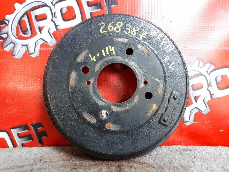 Барабан тормозной Nissan Wingroad WFY11 QG15DE 1999 задний (б/у)