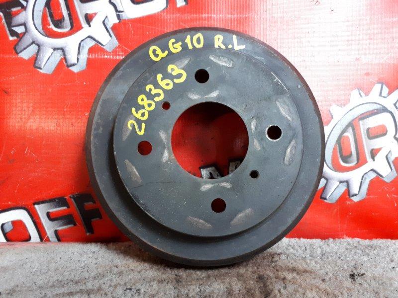 Барабан тормозной Nissan Bluebird Sylphy QG10 QG15DE 2000 задний (б/у)