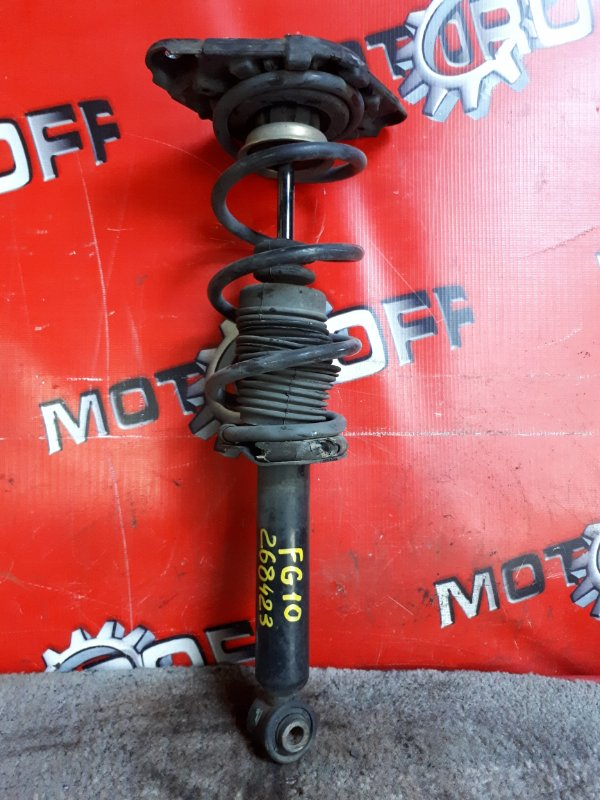 Стойка подвески Nissan Bluebird Sylphy FG10 QG15DE 2000 задняя (б/у)