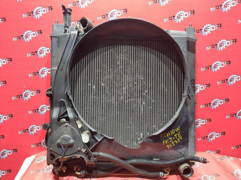 Радиатор двигателя Toyota Grand Hiace KCH10W 1KZ-TE 1999 (б/у)