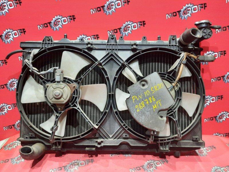 Радиатор двигателя Nissan Avenir PW10 SR20 1990 (б/у)