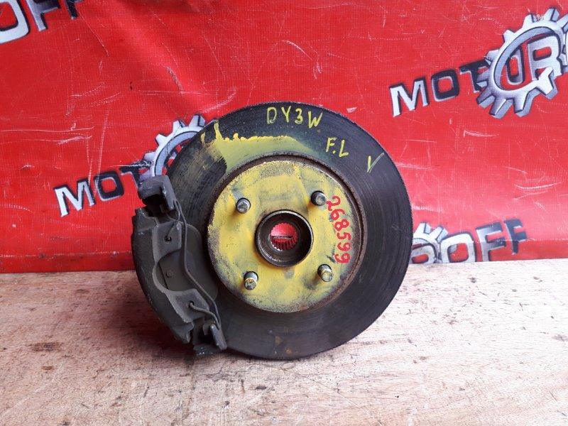 Ступица Mazda Demio DY3W ZJ-VE 2002 передняя левая (б/у)