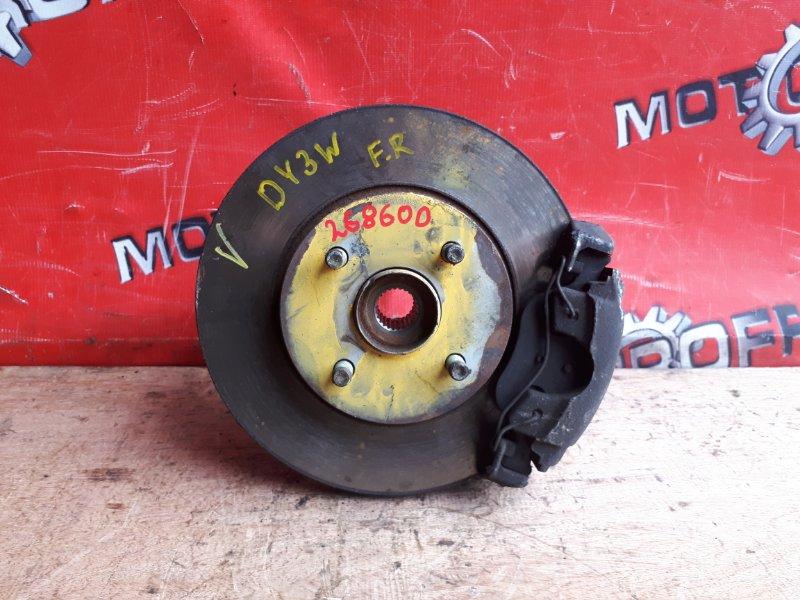 Ступица Mazda Demio DY3W ZJ-VE 2002 передняя правая (б/у)