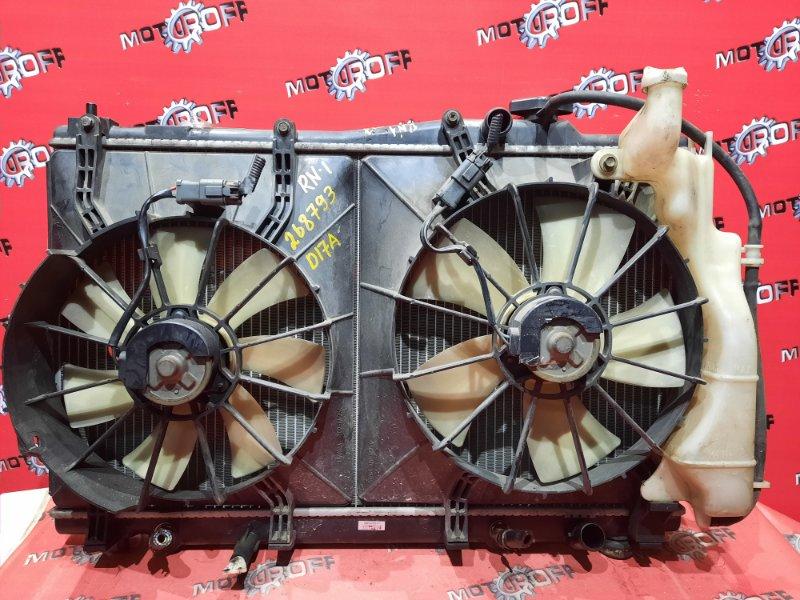 Радиатор двигателя Honda Stream RN1 D17A 2000 (б/у)