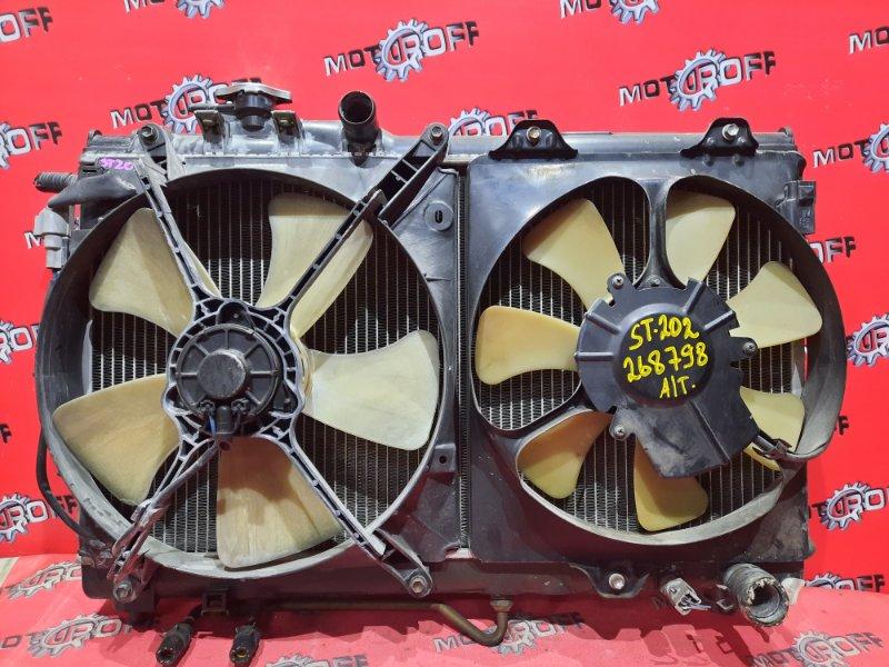 Радиатор двигателя Toyota Carina Ed ST202 3S-FE 1993 (б/у)