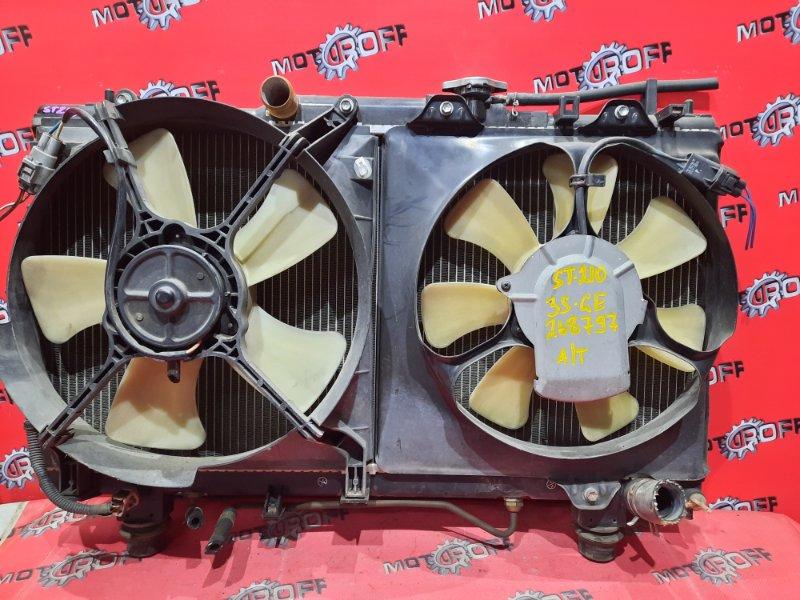 Радиатор двигателя Toyota Caldina ST210G 3S-GE 1997 (б/у)