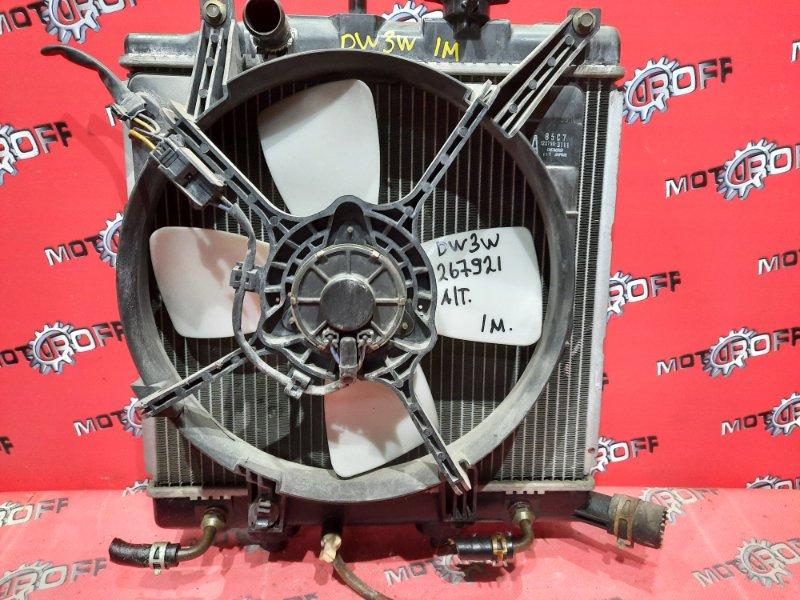 Радиатор двигателя Mazda Demio DW3W B3 1996 (б/у)