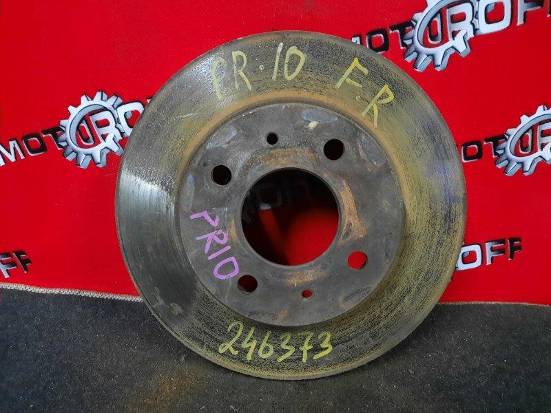 Диск тормозной Nissan Presea PR10 SR18DI 1990 передний (б/у)