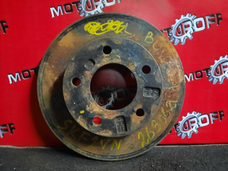 Диск тормозной Mazda Bongo SKF2VN RF 1999 передний (б/у)