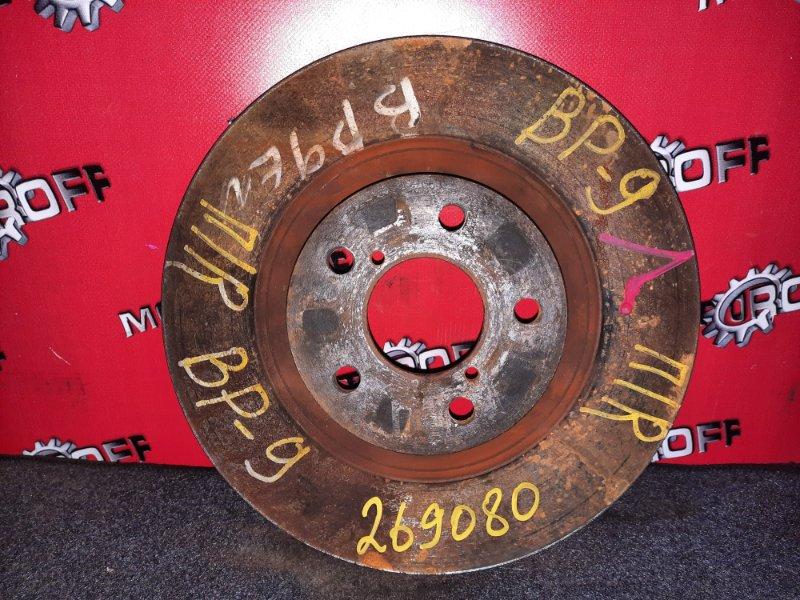 Диск тормозной Subaru Legacy BP9 EJ25 2003 передний (б/у)