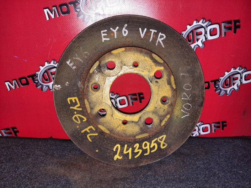 Диск тормозной Honda Partner EY7 D15B 1996 передний (б/у)