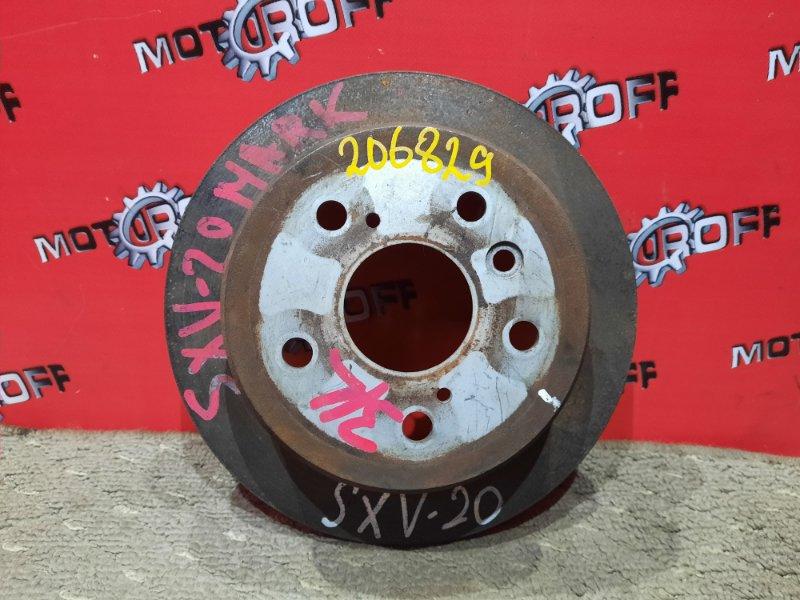 Диск тормозной Toyota Camry Gracia SXV20 5S-FE 1996 задний (б/у)