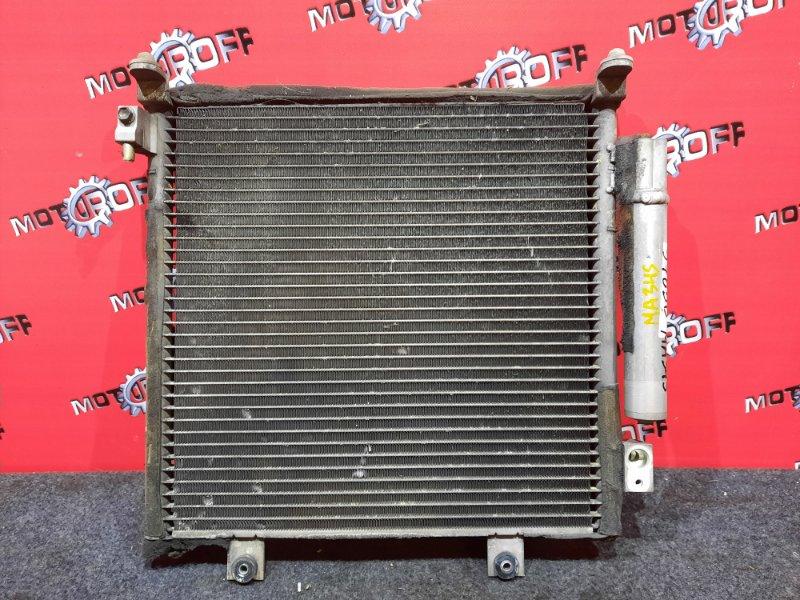 Радиатор кондиционера Suzuki Wagon R Solio MA34S M13A 2000 (б/у)