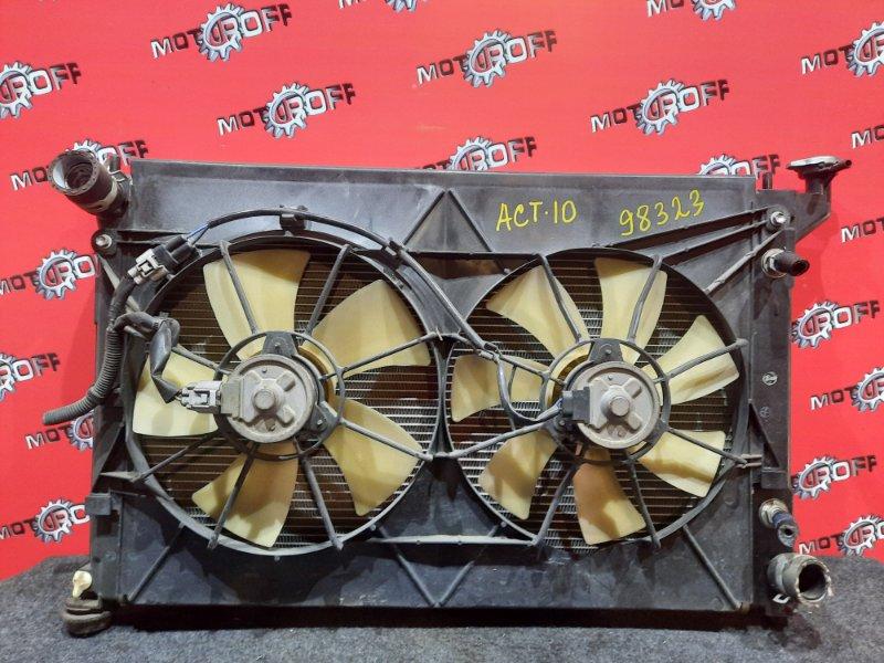 Радиатор двигателя Toyota Opa ACT10 1AZ-FSE 2000 (б/у)