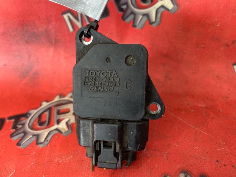 Расходомер (датчик расхода воздуха) Toyota Vitz SCP10 2NZ-FE 1999 (б/у)