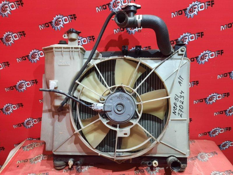 Радиатор двигателя Toyota Probox NCP50V 2NZ-FE 2002 (б/у)