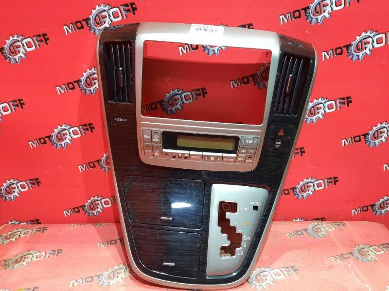 Блок управления климат-контролем Toyota Alphard MNH10W 1MZ-FE 2002 (б/у)